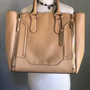 Aldo NWOT Tote 92% Cow Hide Tan